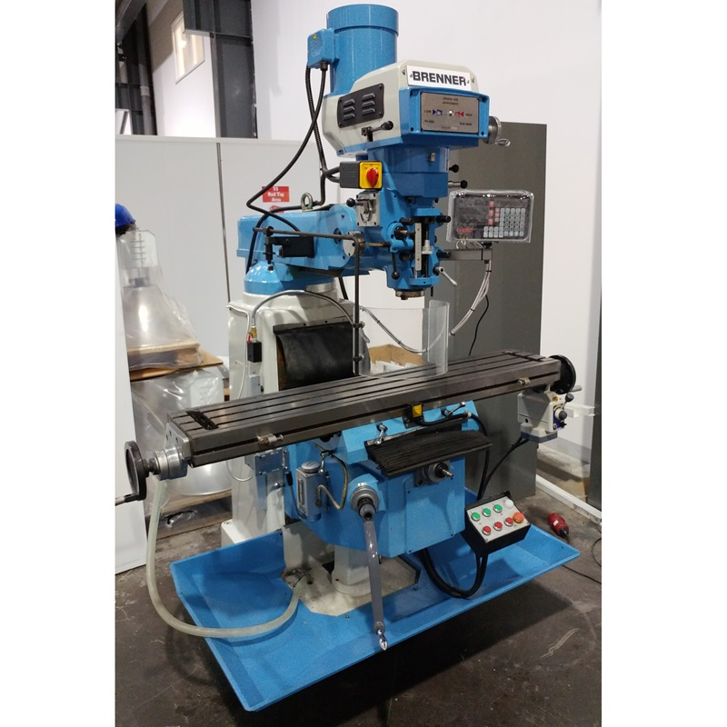 CANCELLED ORDER - Brenner 375S Turret Milling Machine 415V