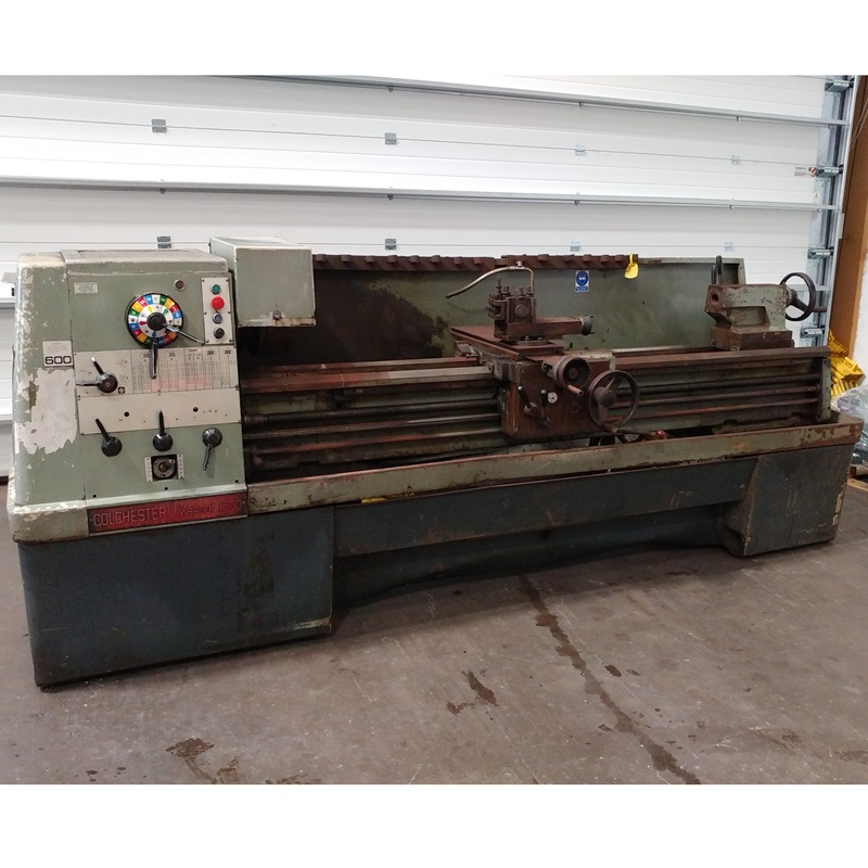 USED - Colchester Mascot 1600 Gap Bed Centre Lathe 415V