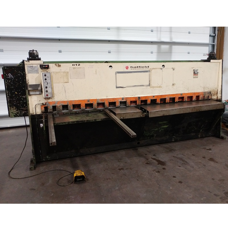 USED - LVD HSL 3100x6mm Hydraulic Guillotine