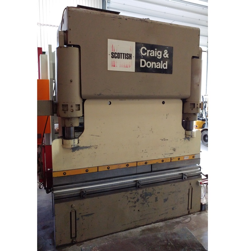 USED - Scottish Craig & Donald 2500mm x 150T Hydraulic Pressbrake