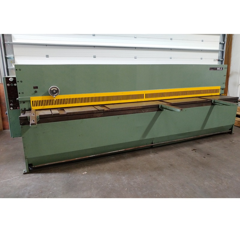 USED - Safan Wila 4000x3mm Hydraulic Guillotine