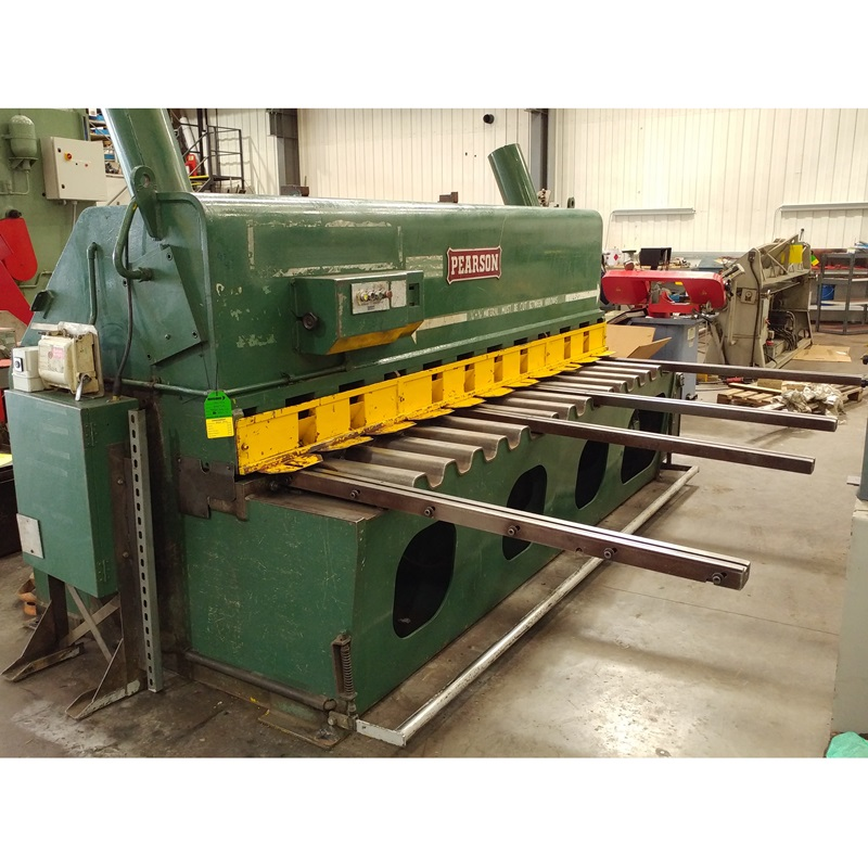 USED - Pearson 3050x10mm Hydraulic Guillotine 415V