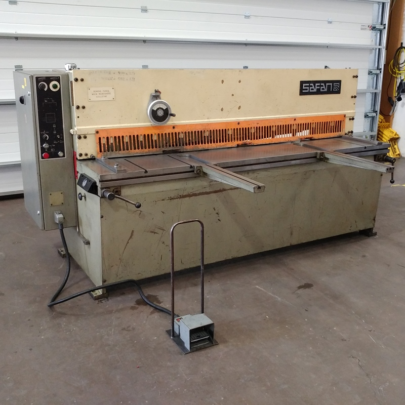 USED - Safan VS205-4 2050x4mm Hydraulic Guillotine