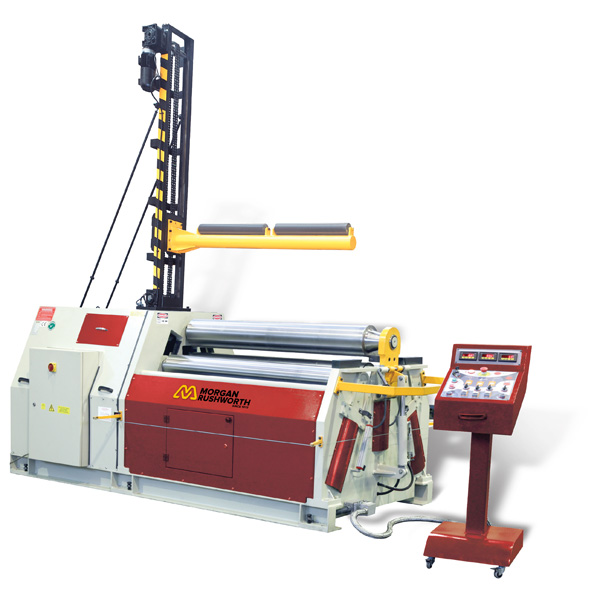 Morgan Rushworth DPBM-4 Powered 4-Roll Plate Bending Rolls