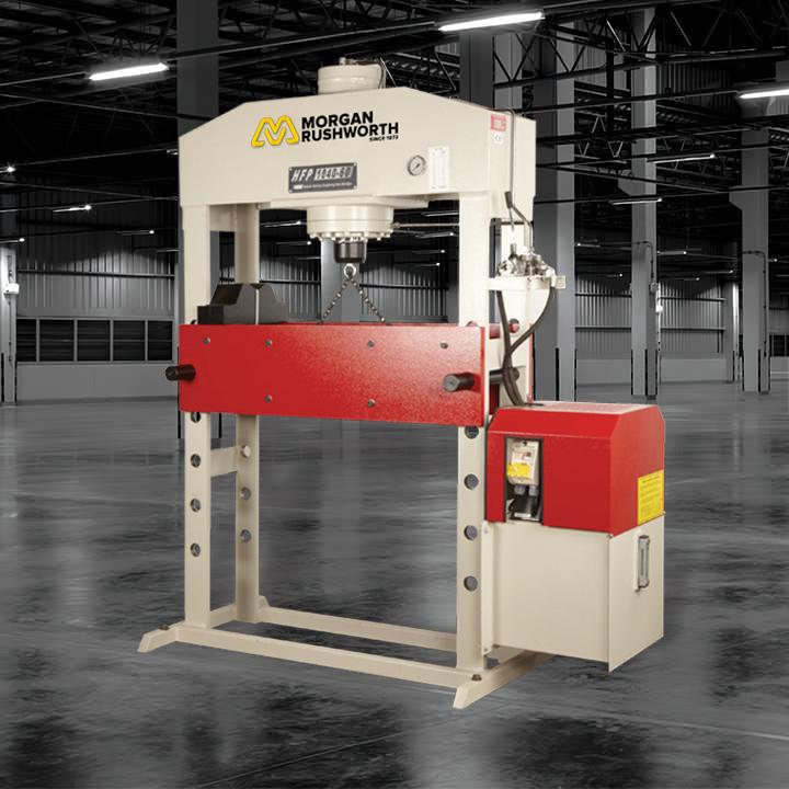 Morgan Rushworth Hydraulic H-Frame Presses