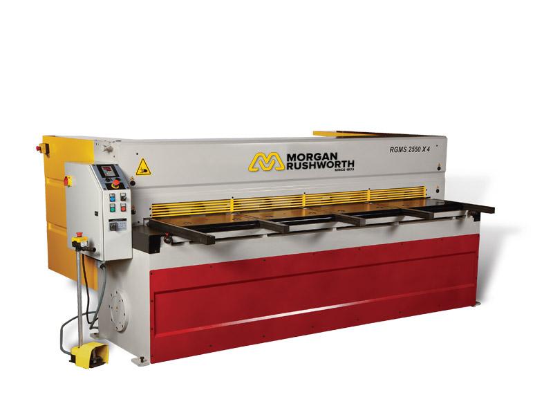 Morgan Rushworth RGMS Mechanical Guillotines