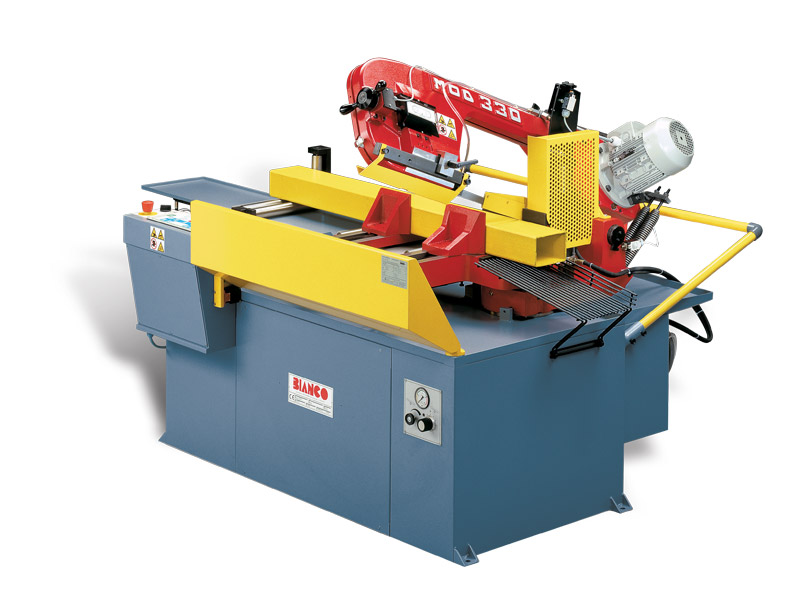 Bianco Automatic Vice Feed Mitring Bandsaws
