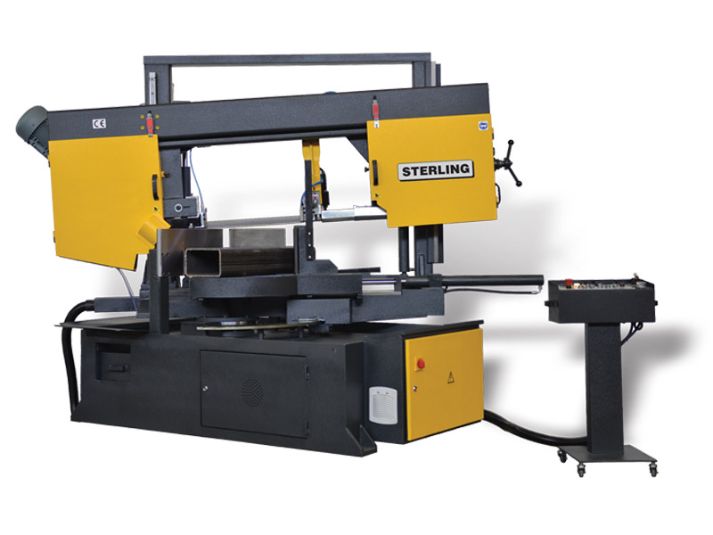 Sterling Twin Column Semi-Automatic Bandsaws