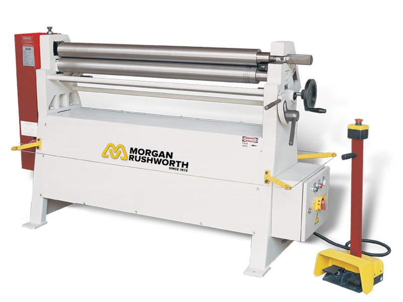 Morgan Rushworth PBR Powered Bending Rolls