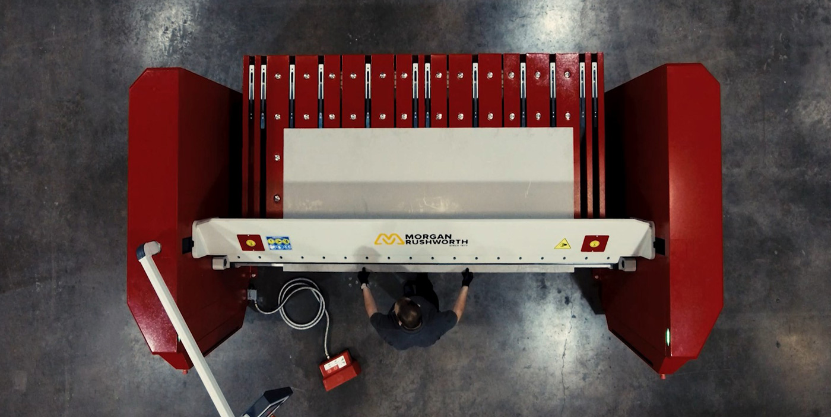 Showroom Addition - Morgan Rushworth EXR Multi Beam Folding Machine