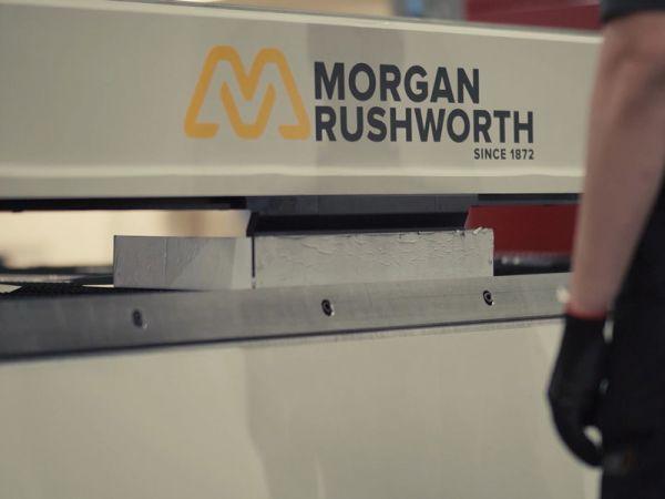 Showroom Addition - Morgan Rushworth EXR Multi Beam Folding Machine