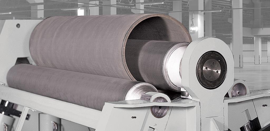 Morgan Rushworth 4-Roll NC Plate Bending Rolls