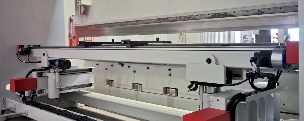 Production bending on a multi axis press brake?