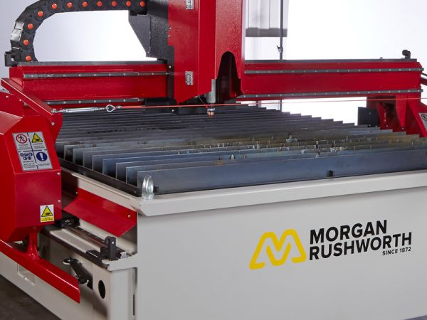 Product Launch - Morgan Rushworth ECP Plasma Cutting Machines