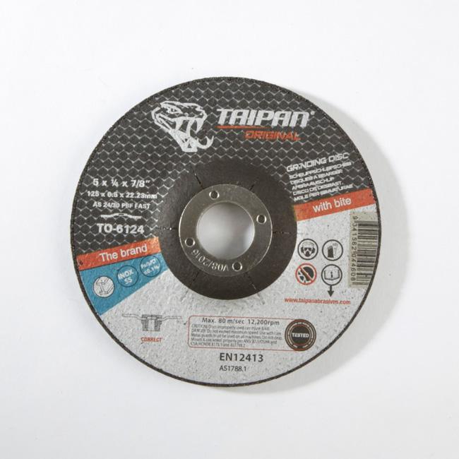 Taipan Original Grinding Disc ?125 - TO-6124