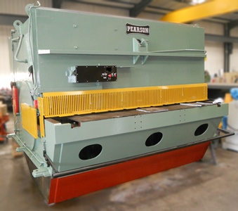 USED - Pearson 3 metre x 25mm Hydraulic Guillotine 415V