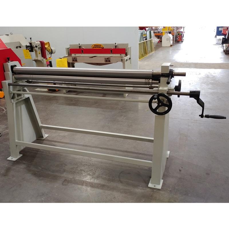 EX DEMO - Morgan Rushworth MBR 1550/90 Manual Bending Rolls