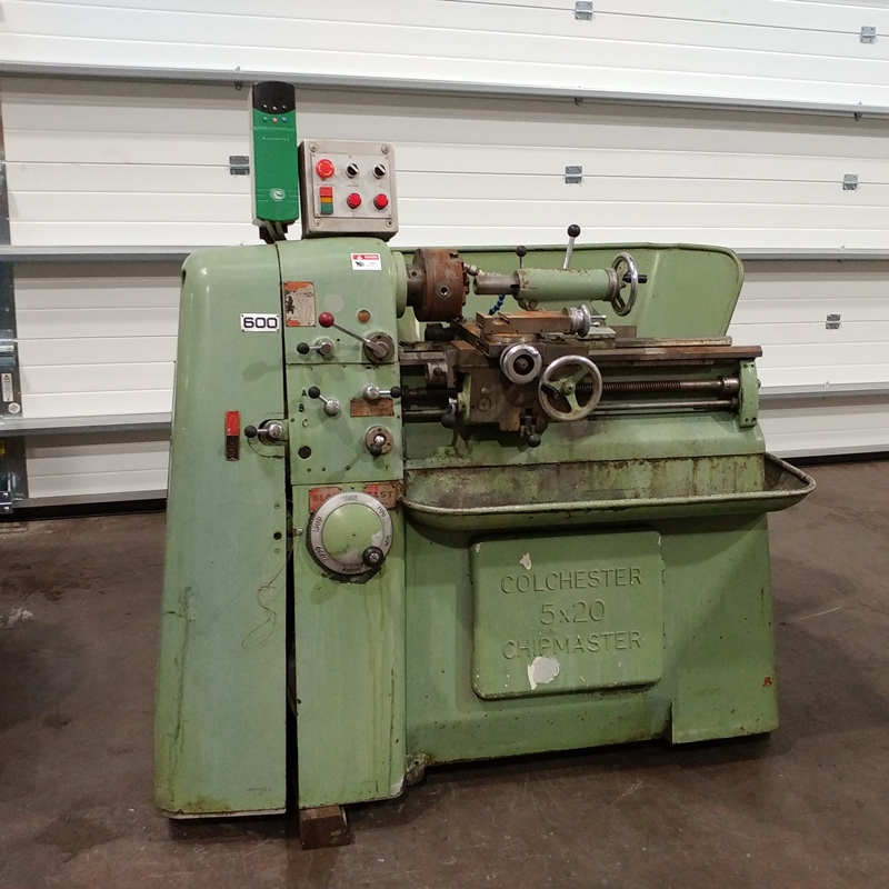USED - Colchester 5x20 Chipmaster Lathe