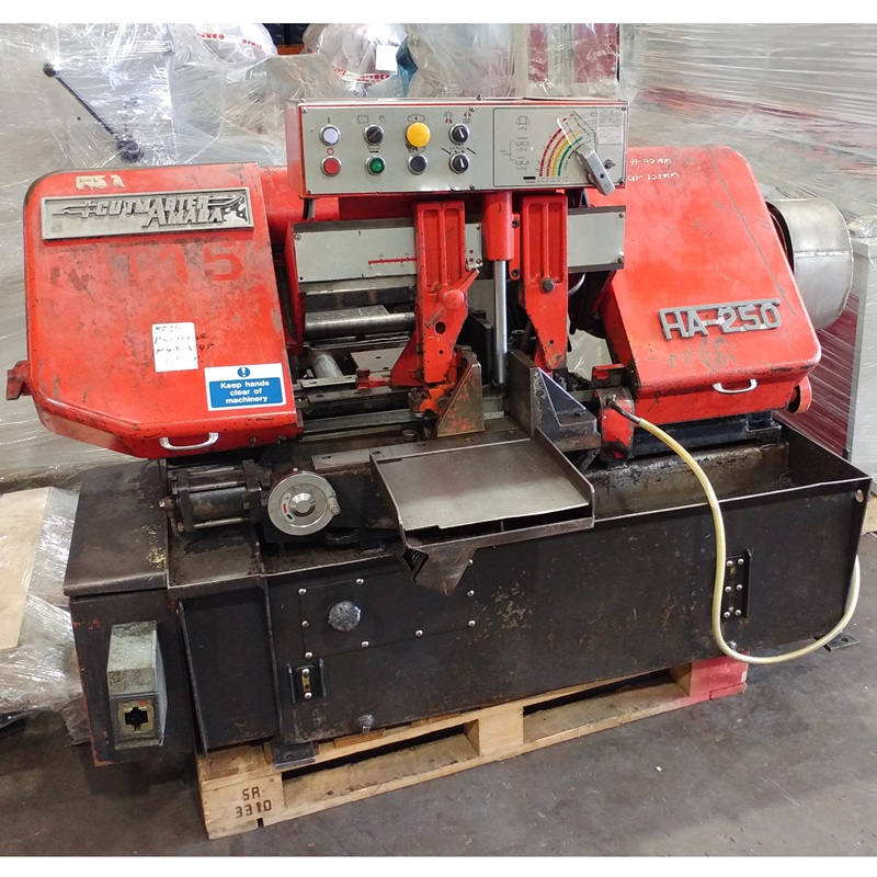 USED - Amada Cutmaster HA-250 Vice Feed Automatic Bandsaw
