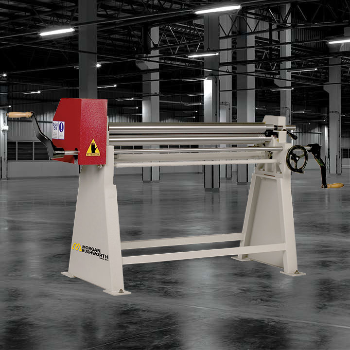 Morgan Rushworth MBR Manual Bending Rolls