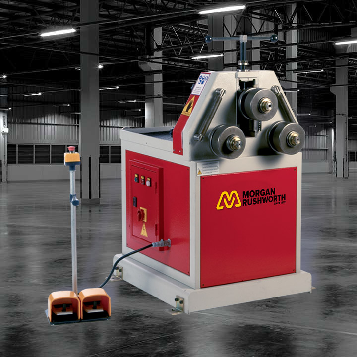 Morgan Rushworth PSR Powered Section Rolling Machines