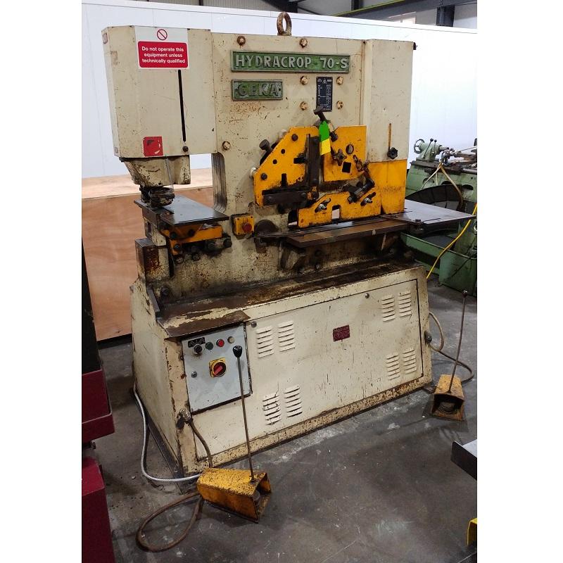 USED - Geka Hydracrop 70-S Hydraulic Steelworker