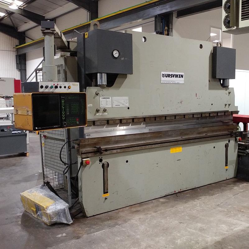 USED - Ursviken EKP-CNC 3.1 / 2.55 3100mm x 100T Hydraulic Pressbrake