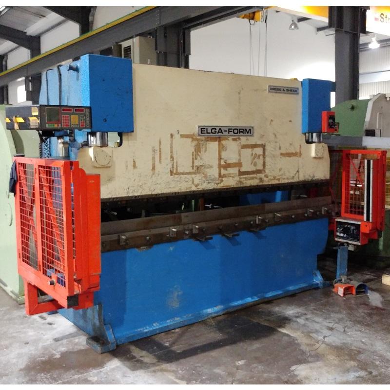 USED - Elga Form PPO 3000mm x 80T Hydraulic Pressbrake