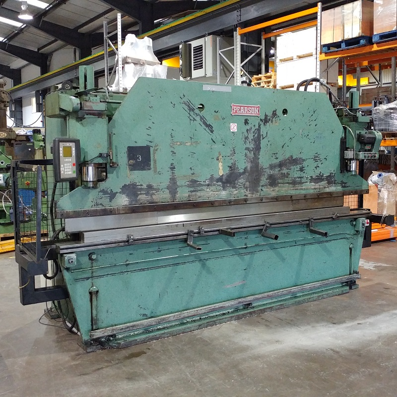 USED - Pearson 3600mm x 70T Hydraulic Pressbrake