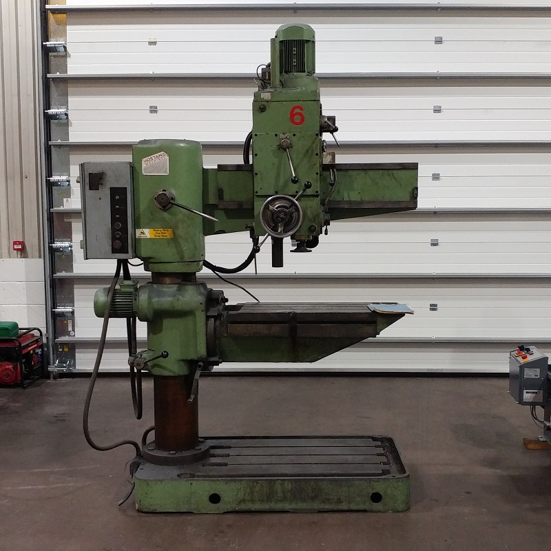 USED - Mostana Radial Arm Drilling Machine