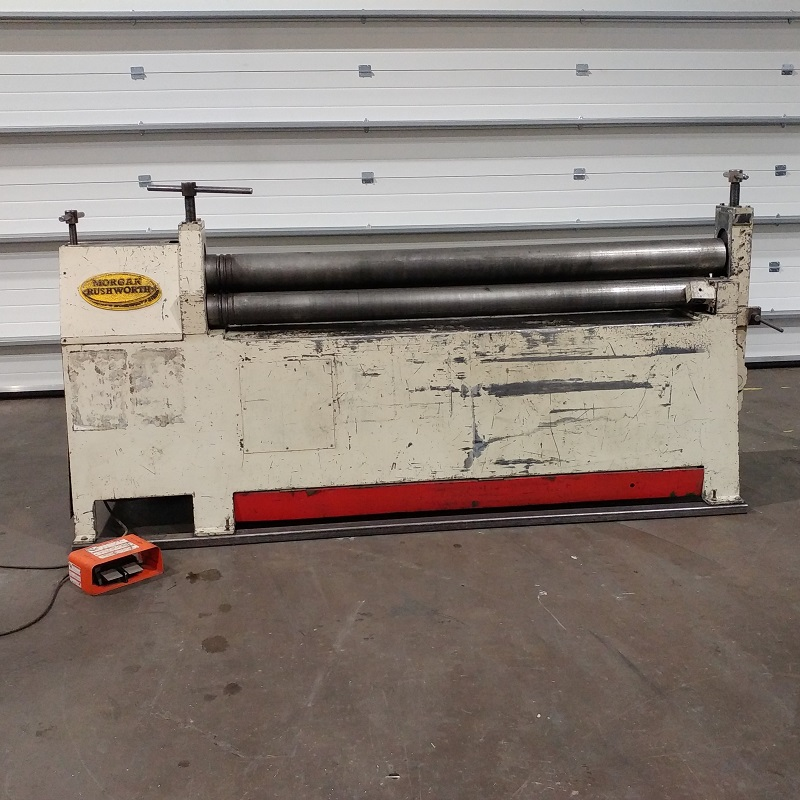 USED - Morgan Rushworth PBR 2000x4mm Powered Bending Rolls