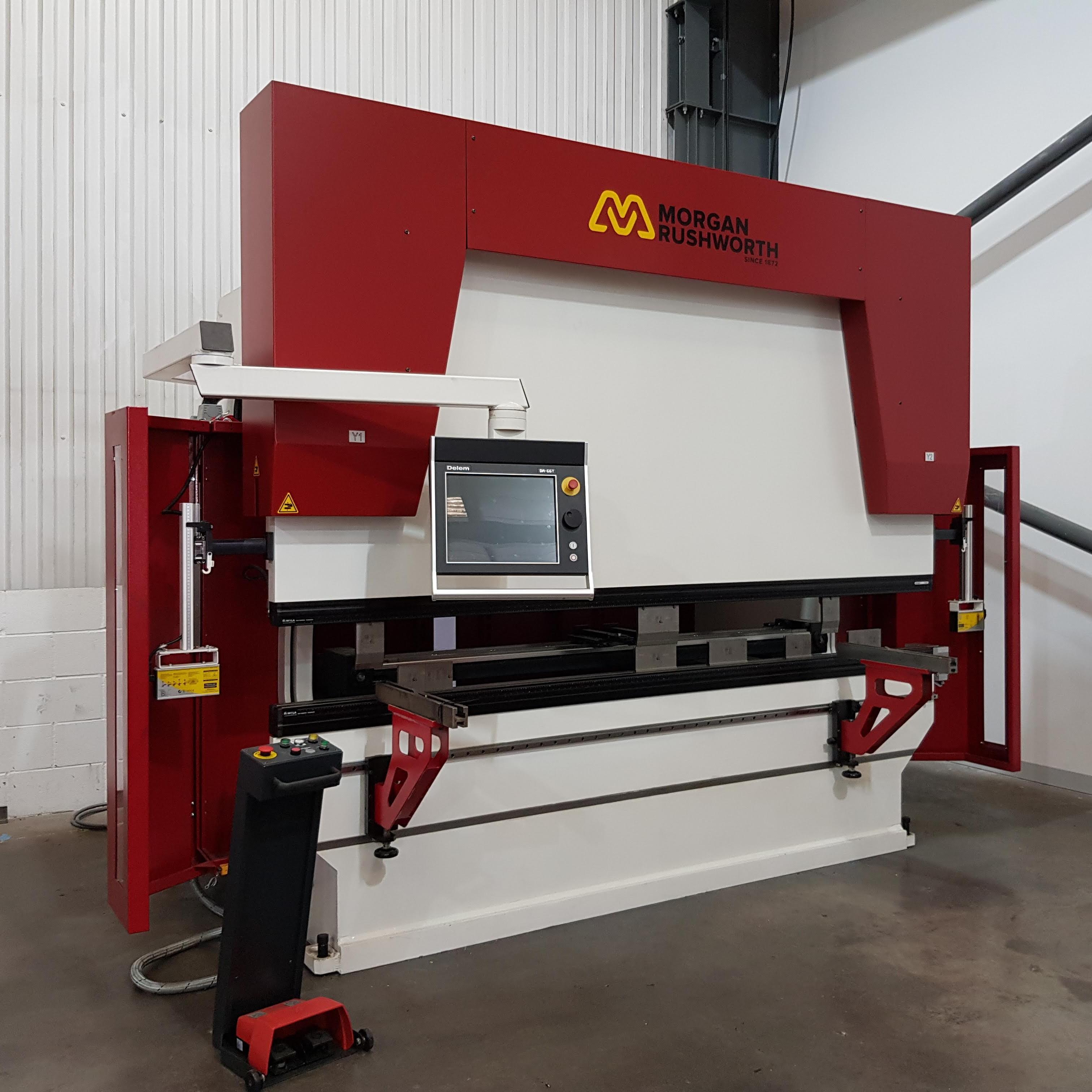 EX DEMO - Morgan Rushworth PBXS CNC 3100/200 Hydraulic Press Brake