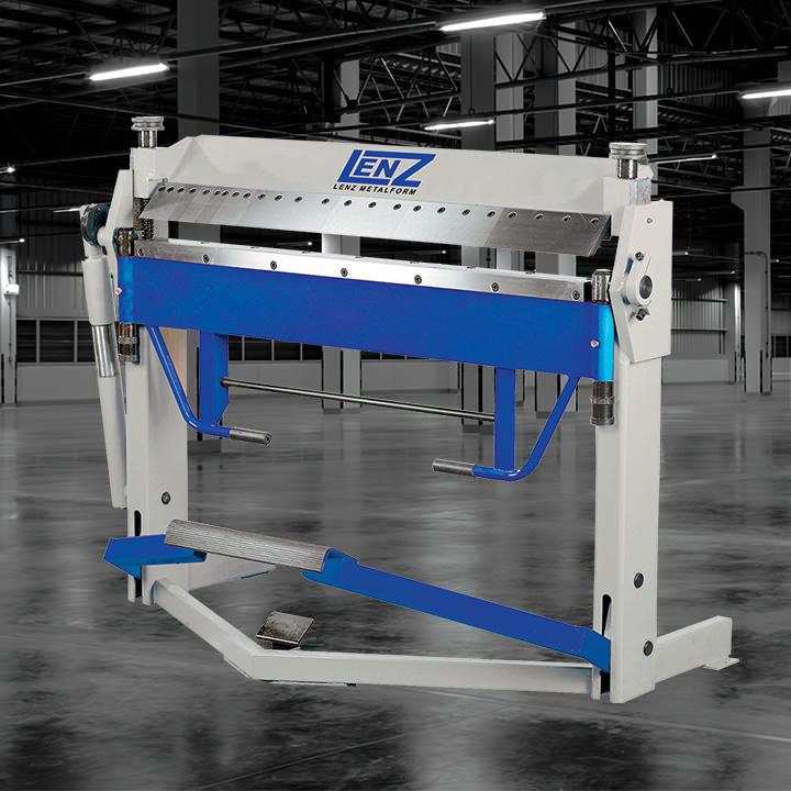 Lenz Metalform LTBP Treadle Box & Pan Folders