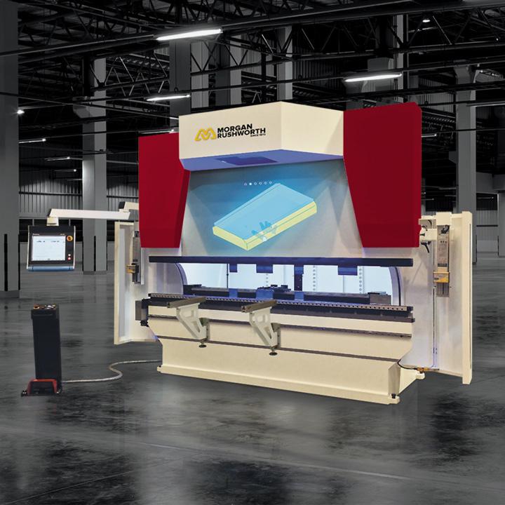Morgan Rushworth mVision CNC Hydraulic Press Brakes