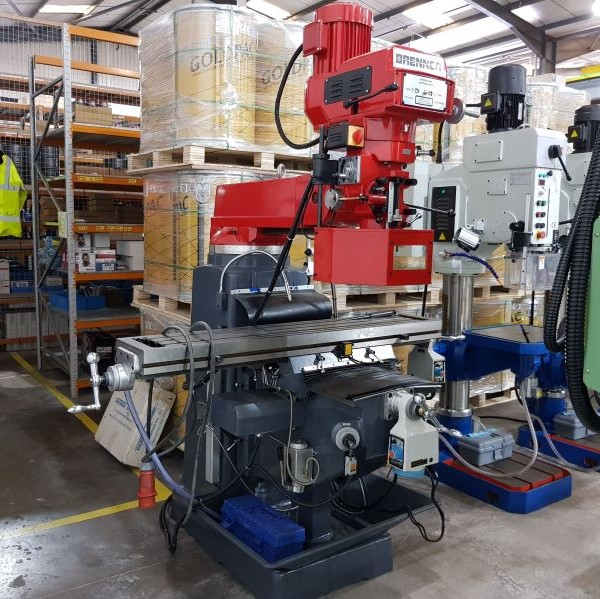 EX DEMO - Brenner 375S Turret Milling Machine