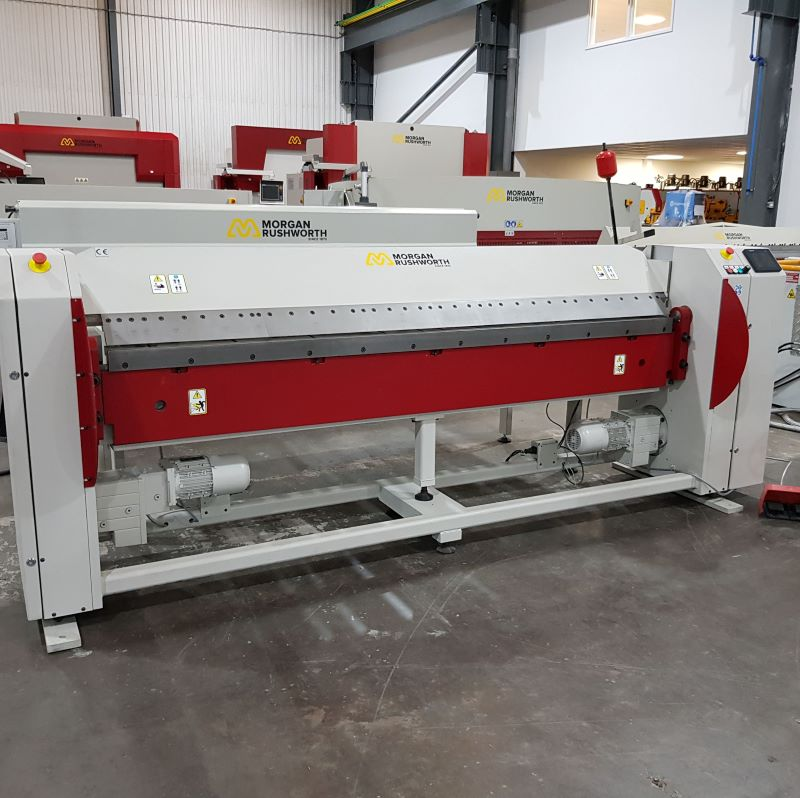 EX DEMO - Morgan Rushworth MFE 2520/2.0 Powered  Folding Machine 415V
