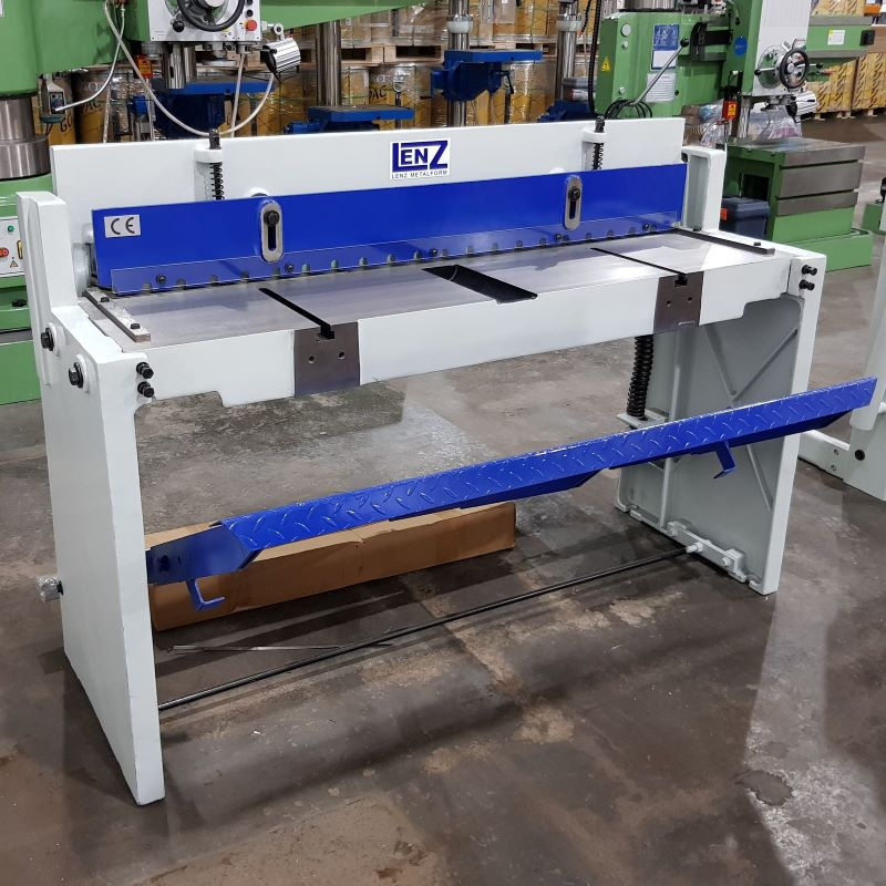 CLEARANCE - Lenz Metalform LFTS 1320 Manual Guillotine Shear