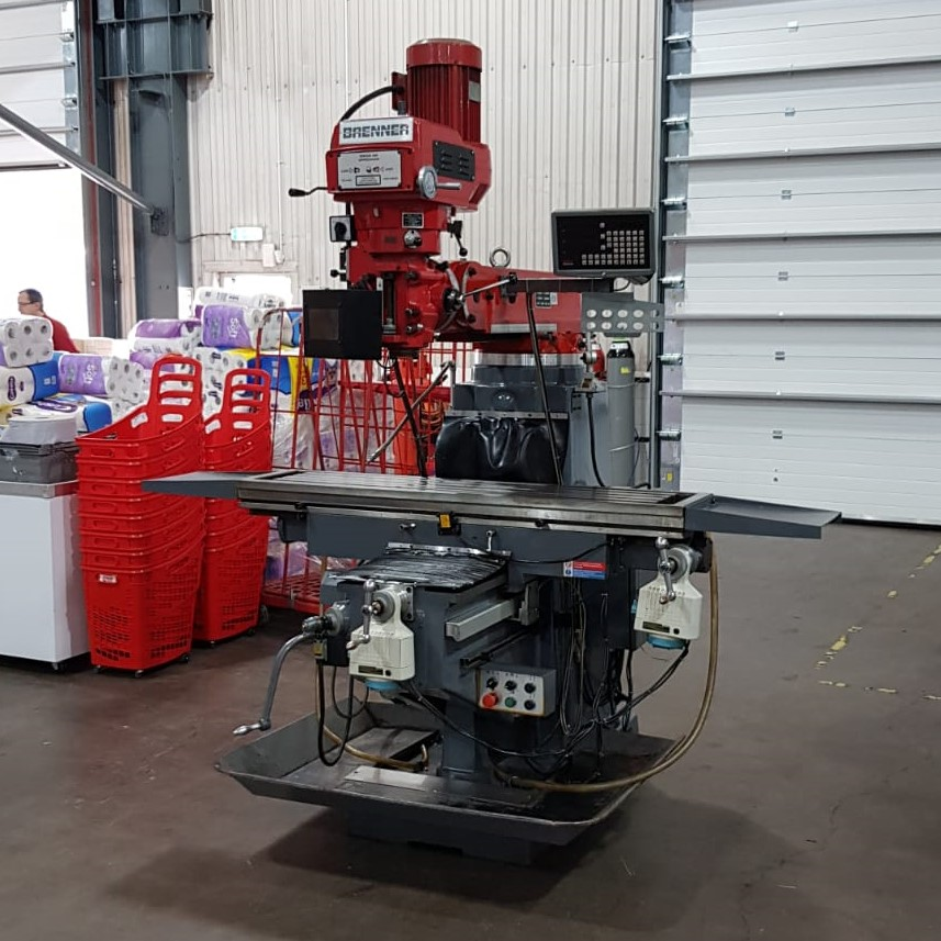 USED - Brenner 560S Turret Milling Machine
