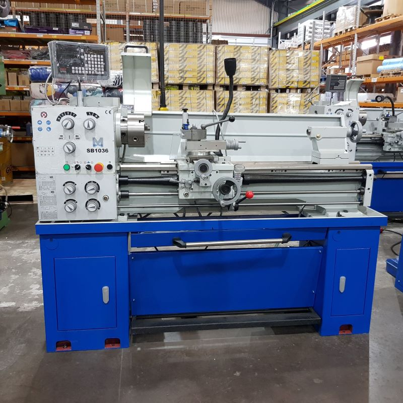 EX DEMO - Meyer SB1036 Precision Centre Lathe with Digital Read Out
