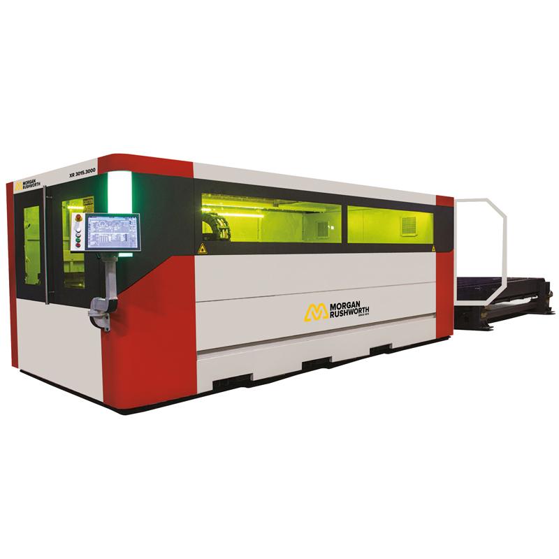 Morgan Rushworth XS Fibre Laser Cutting Machines