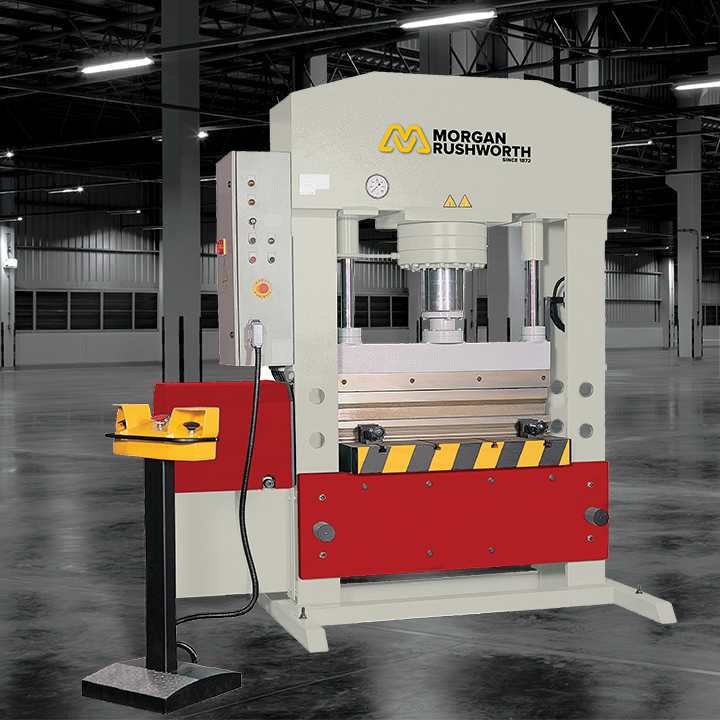 Morgan Rushworth PBH Hydraulic H-Frame Press Brakes