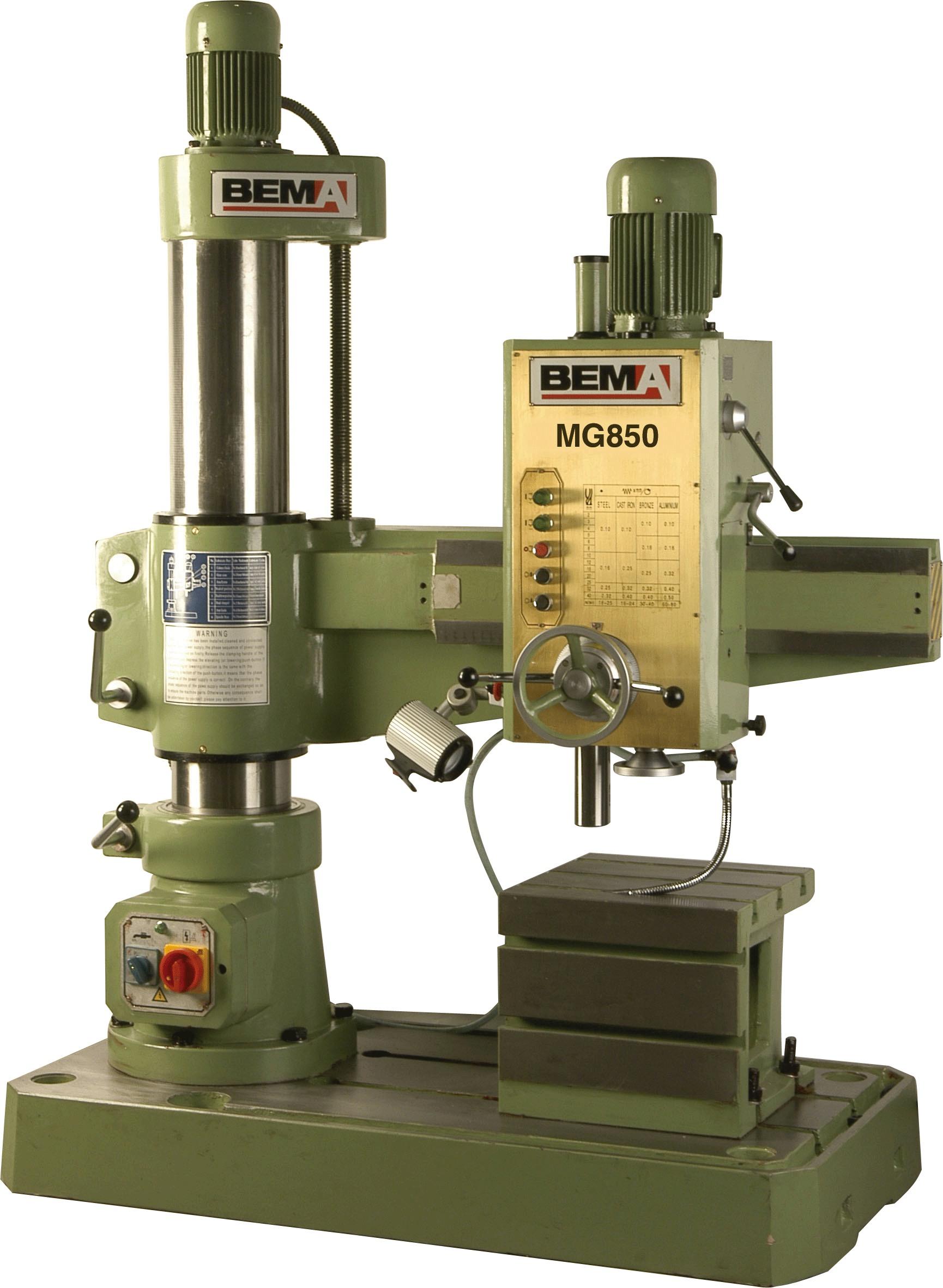 Bema Radial Arm Drills