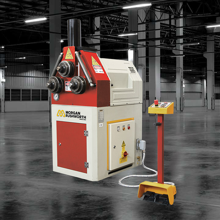 Morgan Rushworth HSR Hydraulic Section Rolling Machines