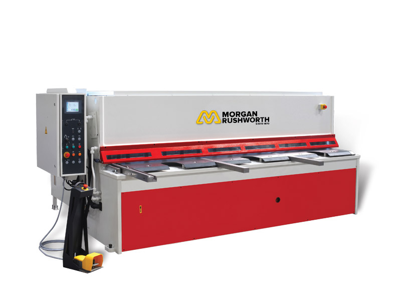 Morgan Rushworth BHGS NC Hydraulic Swing Beam Guillotines