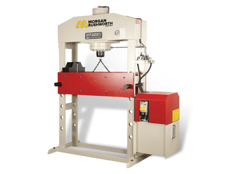 Morgan Rushworth Hydraulic H-Frame Presses