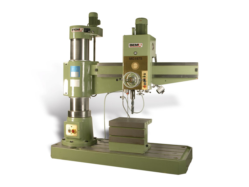 Bema Radial Arm Drills