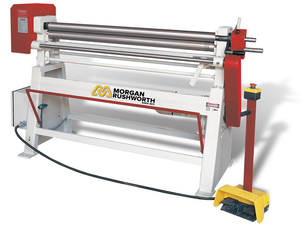 Morgan Rushworth DPR Powered Bending Rolls