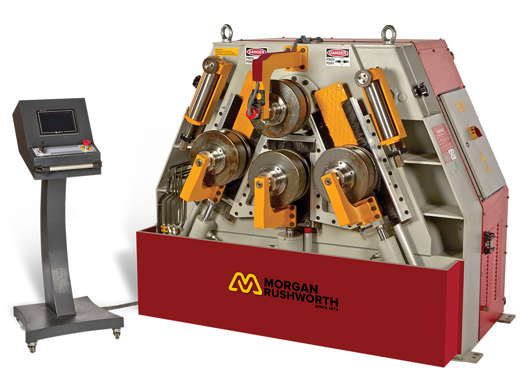 Morgan Rushworth HSR-4 Hydraulic Section Rolling Machines