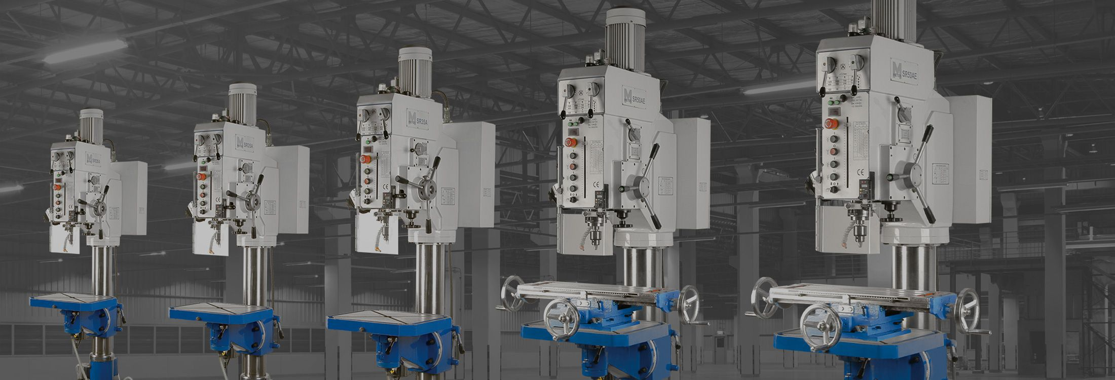 RADIAL & PILLAR DRILLING MACHINES