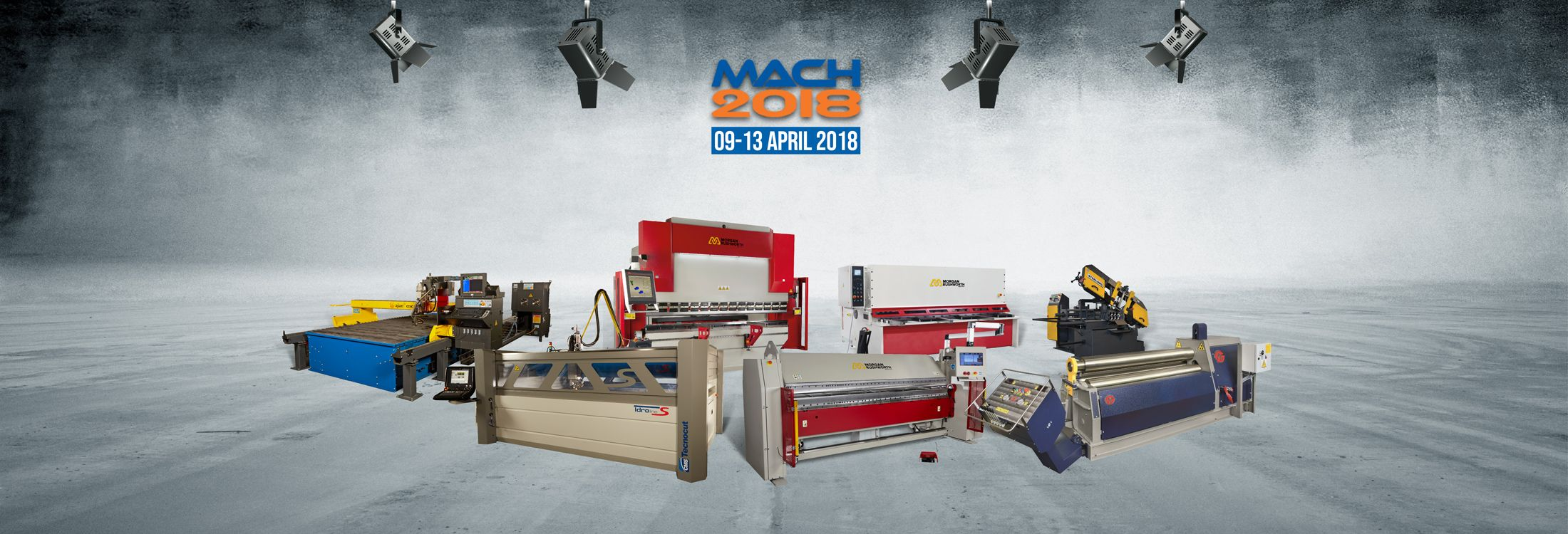 WE'RE COMING TO MACH 2018